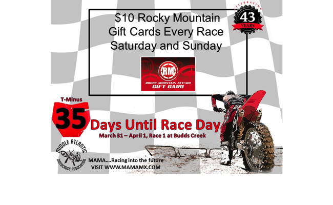 35 Days Until Race Day!