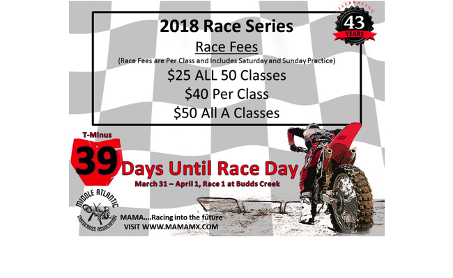 39 Days Until Race Day!