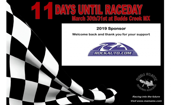11 Days Until Raceday